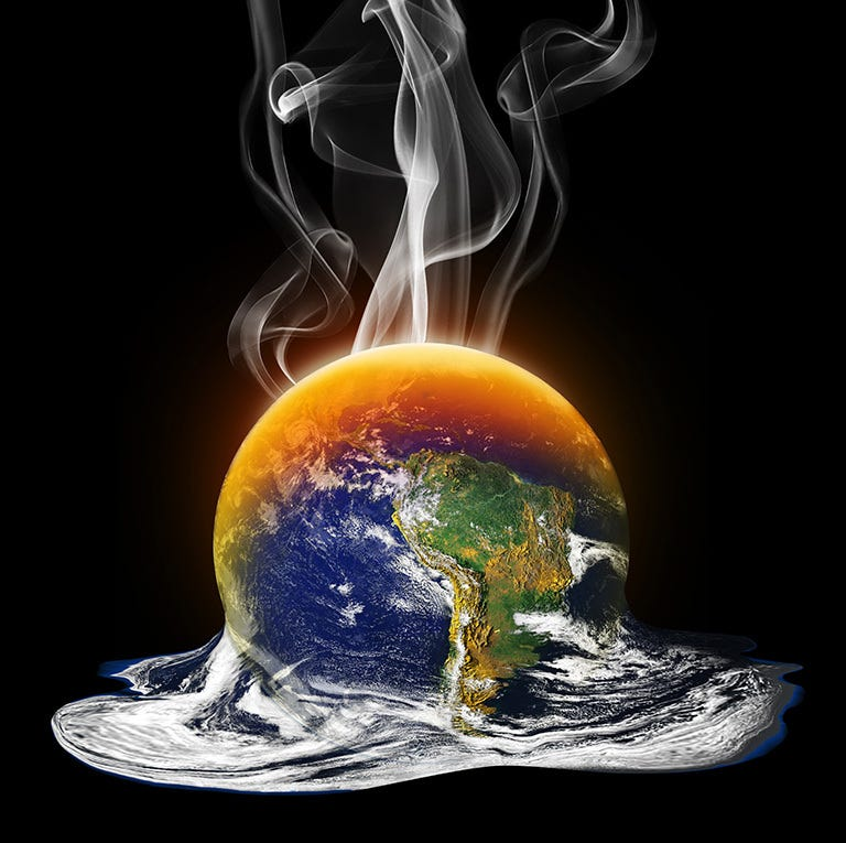 NOAA said that 2020 has a 74.7% chance of being the Earth's warmest year on record.