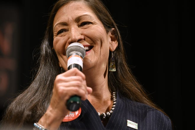 U.S. Rep. Deb Haaland, D-NM, is expected to be nominated by President-elect Joe Biden for Secretary of Interior. If confirmed, she would be the first Native American to be a member of the Cabinet.