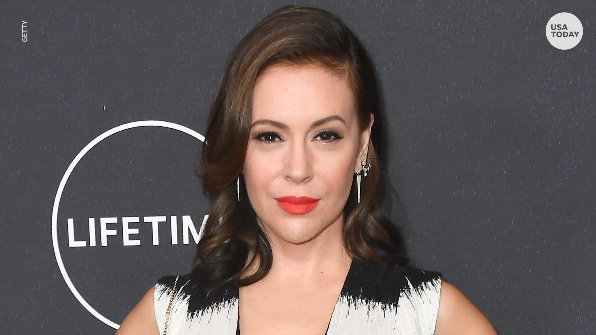 Alyssa Milano 2008 alyssa milano reveals she had two abortions within months in