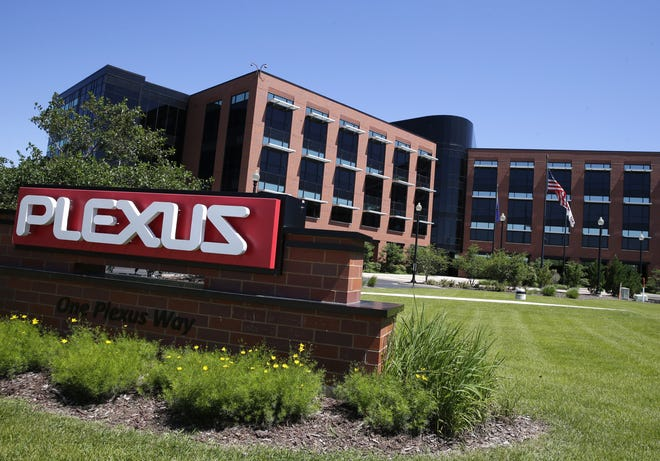 Plexus Corp.'s global headquarters is in downtown Neenah.