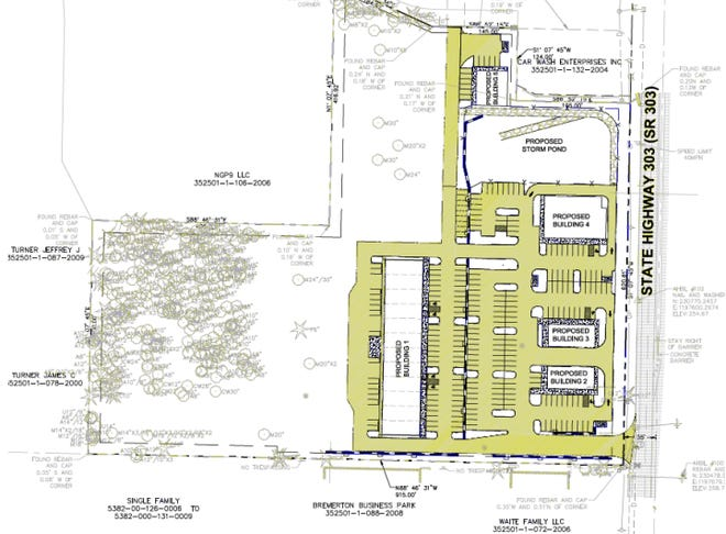 A Gig Harbor-based developer has applied for permits with the county to build a business park on Highway 303 near McWilliams Road.