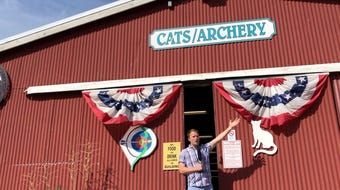 This year's fair has some big changes ... to go with usual traditions like cats and archery. Join Josh Farley to find out what's cooking this year.