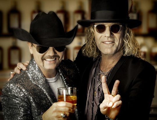 Country duo Big & Rich plays the Champlain Valley Fair on Aug. 30.