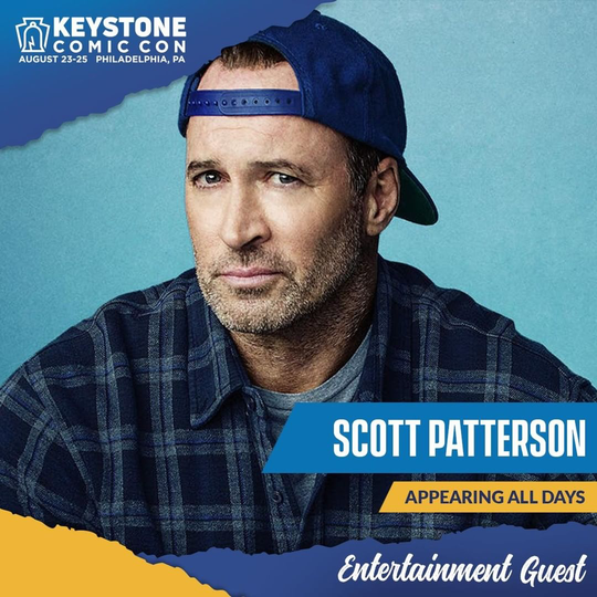 Scott Patterson will appear all three days of Keystone Comic Con.