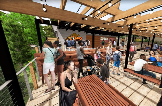 TheCincinnati Zoo & Botanical Garden is getting a craft beer garden this fall, called Hops, featuring drinks from local breweries.
