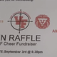 Gun raffle: Cheer squad raffle tickets for semi-automatic rifle