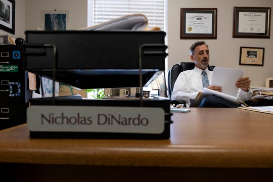 Nick DiNardo is photographed at The Legal Aid Society offices in Cincinnati, Ohio on Wednesday, August 21, 2019.
