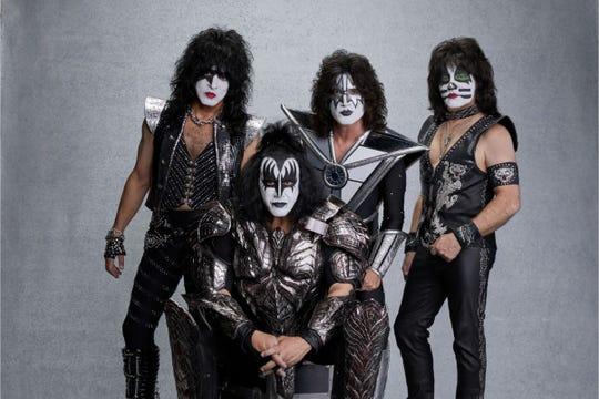 Kiss plays Riverbend Thursday.
