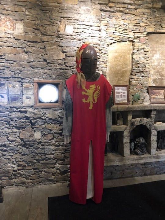 Inside Loveland Castle