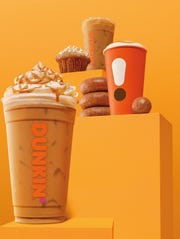 Fall offerings at Dunkin.'