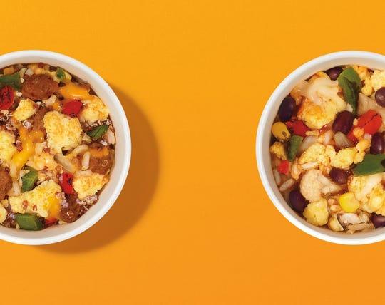 Burrito bowls at Dunkin.'
