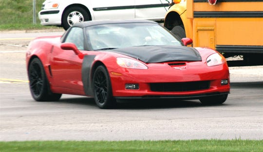 Jim Dunne captured a photo of the super-performance Chevrolet Corvette SS when General Motors wouldn't admit it was developing the car.