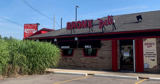 This Pizza Hut has transformed into a Bronx Deli. Captured on July 9 at Telegraph Road.