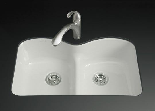 The Plumber: Cast-iron kitchen sinks are still trendy