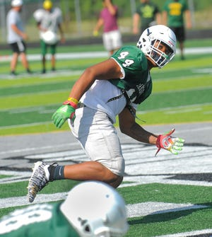 Linebacker Cornell Wheeler, a Michigan commit, is one of 15 returning starters for West Bloomfield.