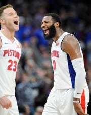 The Pistons' five-game preseason slate includes three home and finishes with two road games; the opener is against the Orlando Magic on Oct. 7 at Little Caesars Arena.