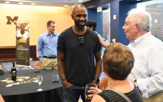 "Charles Woodson was in Ann Arbor on Wednesday for the launch of his new wine appropriately called ""Intercept."" Woodson also is doing some television feature work for the NFL and is talking to a few networks about continuing his work has an analyst."