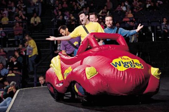 The Wiggles will perform at the Fox Theatre.