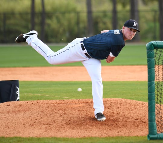 Right-handed pitching prospect Beau Burrows, the club's first-round pick in 2015, had a rough season at Triple-A Toledo. He dealt with a shoulder injury and he never really found a groove.