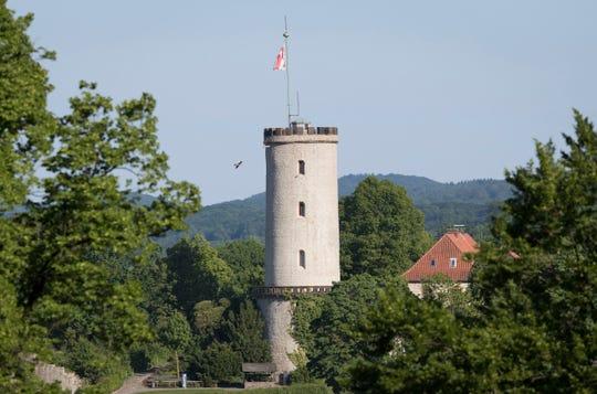 A castle in Bielefeld, Germany.