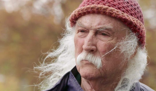 "David Crosby in ""David Crosby: Remember My Name."""