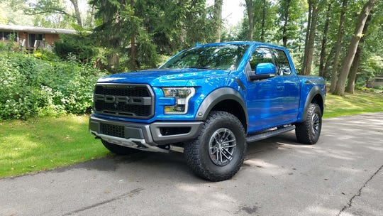 The 2019 Ford F-150 Raptor is the most powerful of a new breed of performance pickup hitting the Dream Cruise.
