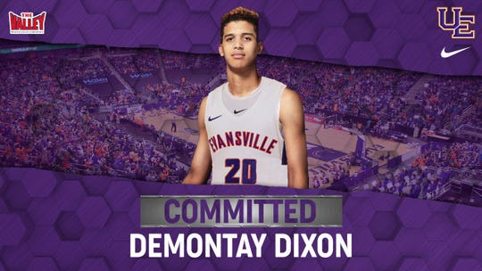 Demontay Dixon committed to Evansville in May.