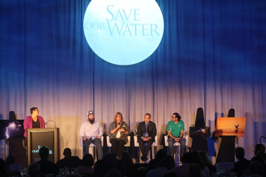 Hundreds attended the News-Press/Naples Daily News Save Our Water Summit at the Hyatt Regency on Wednesday August, 21,2019. The event brought together experts on water quality, policy and projects among other things. Gov. Ron DeSantis made a guest appearance as well.
