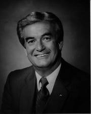 Former Greenville Mayor Harry Luthi