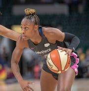 Tiffany Mitchell averaged 9.7 points per game last year.