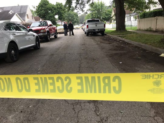 A man was found dead about 7 a.m. Wednesday in the 500 block of Centennial Street on the west side.