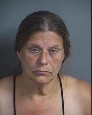 Debra Gustafson, 60, faces a second-degree theft charge after she was arrested on August 21, 2019.