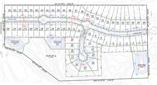 Developer TRD, LLC is applying to rezone 37 acres south of Scott Boulevard and North of Tamarack Trail. The proposed development could have as many as 60 plots.