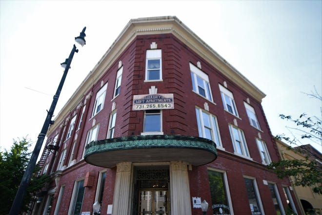 The Pythian building is owned by John Allen, who has put office space, a ballroom and apartments into the building.