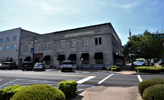 The old Regions Bank owned by Phil Martin on August 21 in Downtown Jackson, Tenn.