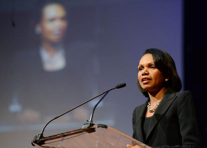 Former U.S. Secretary of State Condoleezza Rice