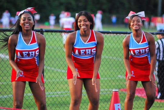 What better way to spend a Friday night than cheering on your favorite team, like these 2016 Austin-East cheerleaders did.