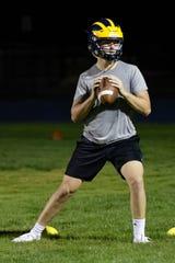 Junior Holden D'Arcy enters his second season as Hartland's starting quarterback.