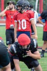 Joe Bona returns for his second season as Pinckney's starting quarterback.