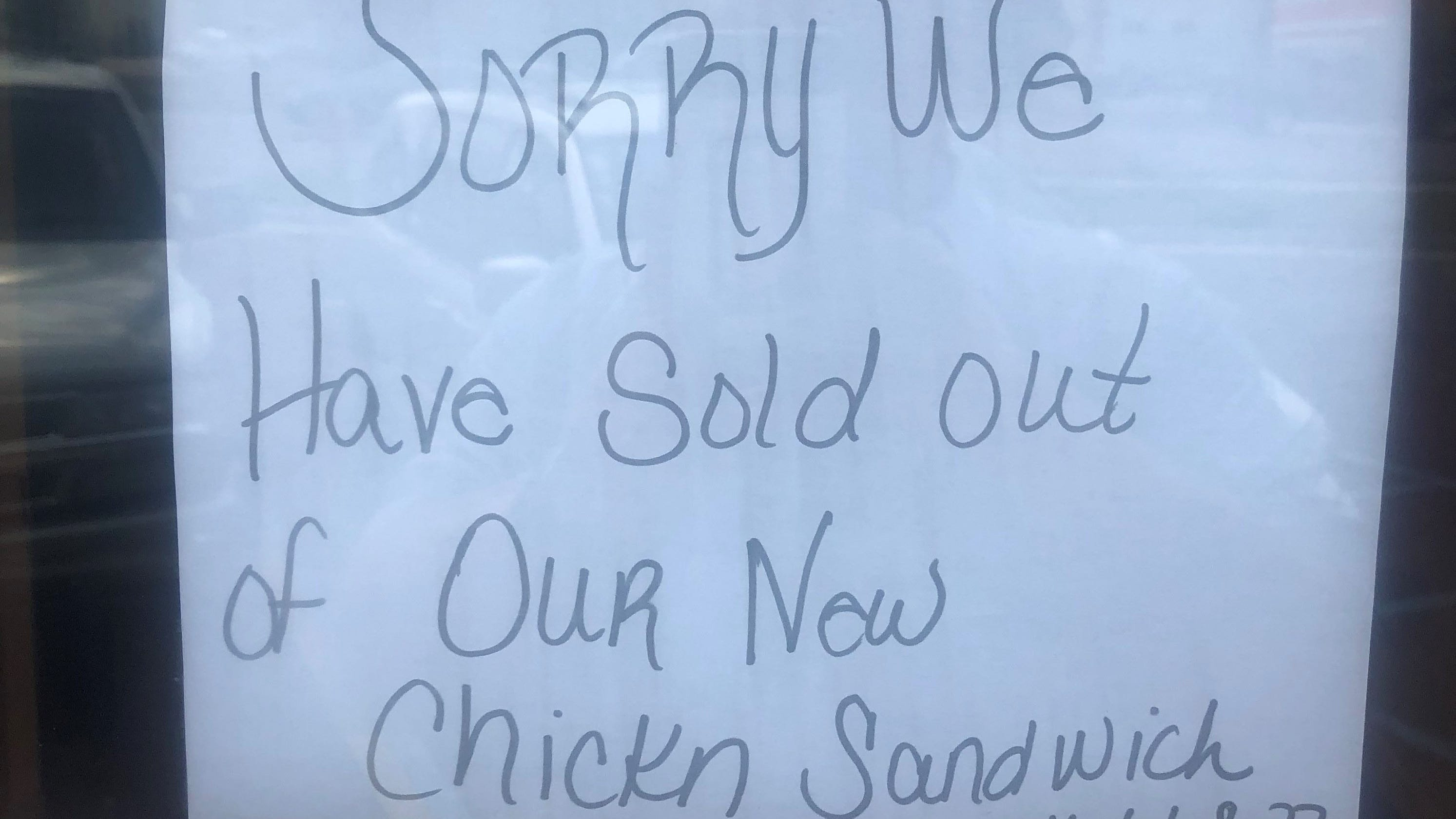 Popeyes New Chicken Sandwich Is Sold Out In Lansing Too