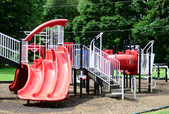 North Lake Park's playground and will be replaced with a new one, as will Prospect Park's playground.