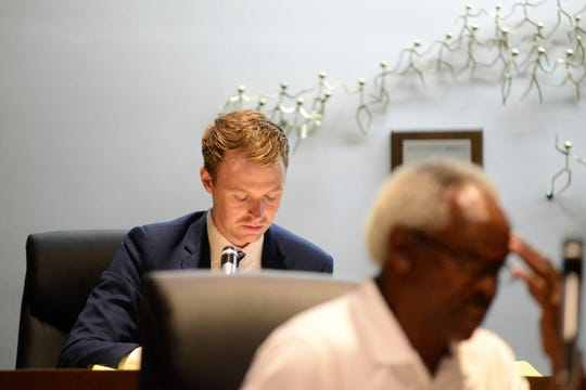 Christopher Brown, assistant law director, recommended city council toleave the proposed change alone