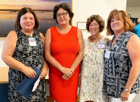 Jane Schlechtweg, Sen. Kathleen Passidomo, Linda Brown and Karen Tessel-Blum.