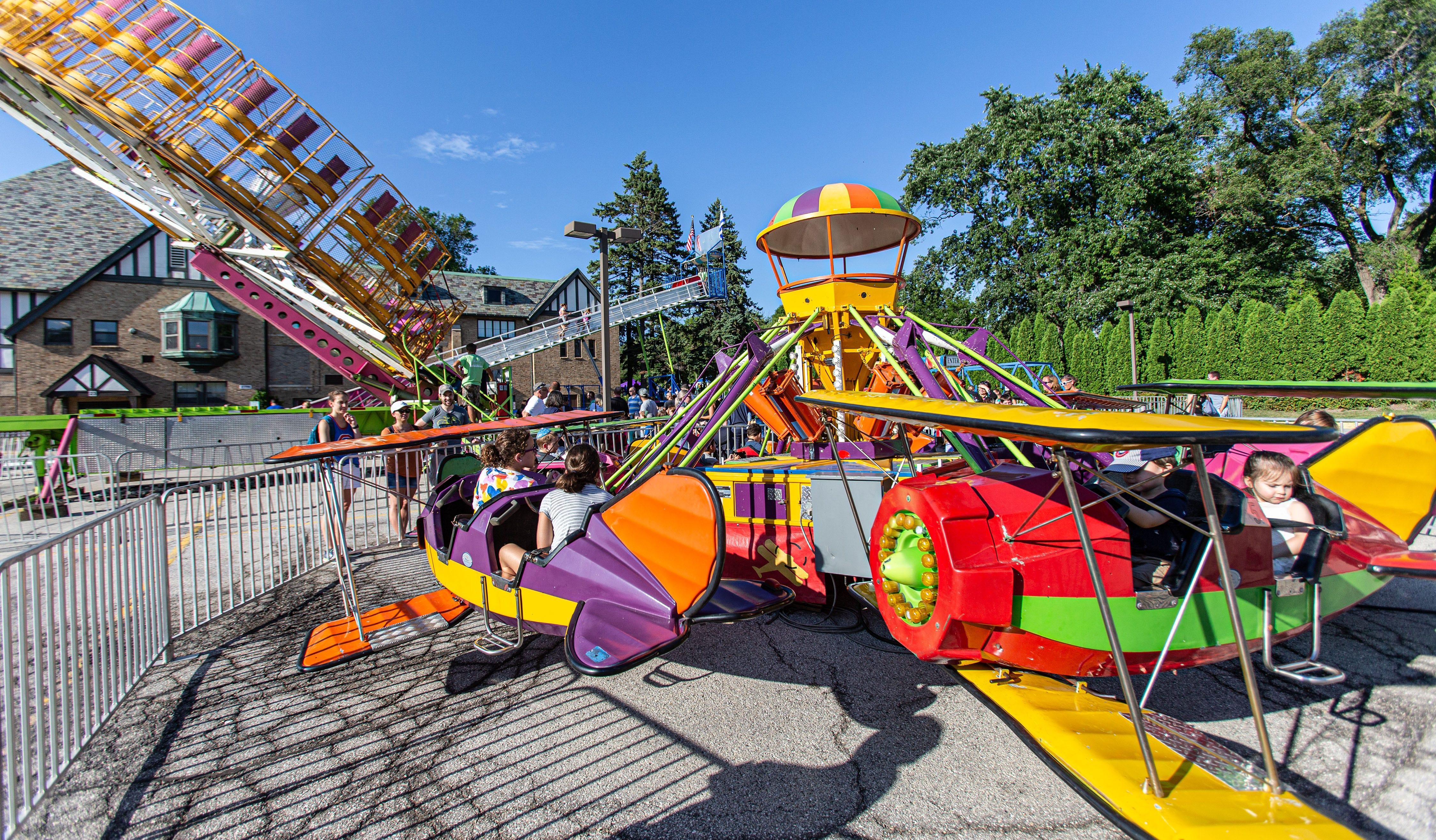 Summer Carnival at the Harry & Rose Samson Family Jewish Community Center