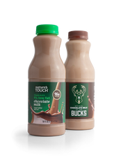 The Milwaukee Bucks and Kwik Trip partnered on the official team chocolate milk that will go on shelves across Wisconsin on Oct. 1.