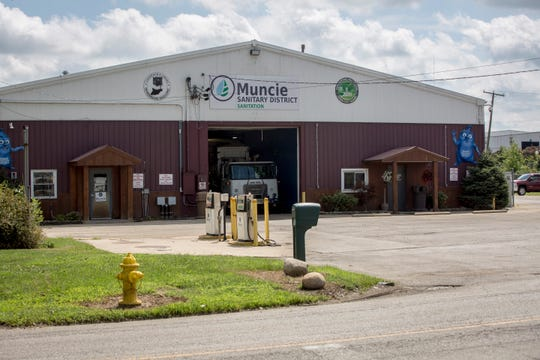 The Muncie Sanitary District's current truck barn at 811 E. Centennial Ave. is a 90-year-old building that officials say is in need of extensive repairs. The district is opting to build a new garage on Dr. Martin Luther King Jr. Boulevard instead.