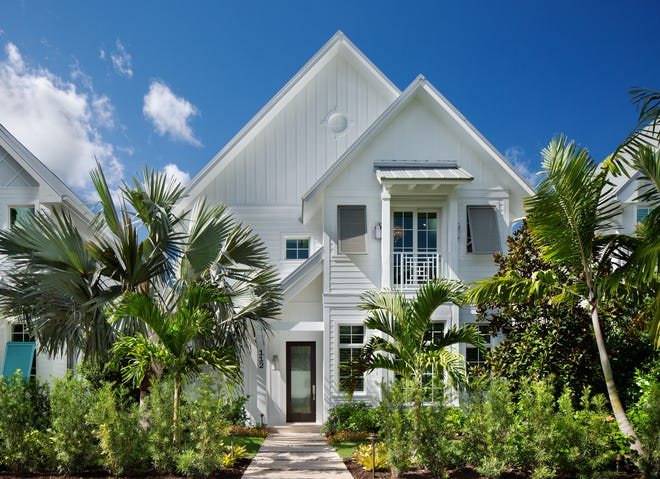 The Emily Ann at 112 6th Street South features a contemporary coastal look.