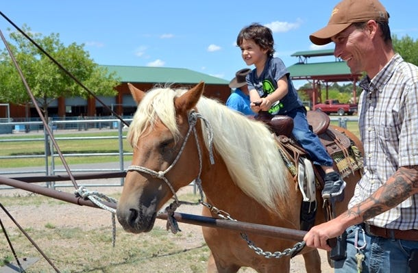 Pony rides will be available from 10 a.m. to noon and from 1 to 2:30 p.m. on Saturday, Aug. 24, at the New Mexico Farm & Ranch Heritage Museum in Las Cruces, NM.