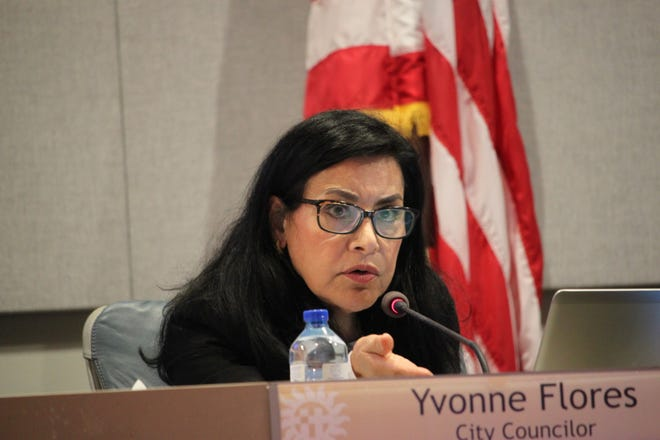 Councilor Yvonne Flores proposed a work session to consider a city-wide ban on glyphosate-based herbicides, not limited to city-owned property, during the Las Cruces City Council meeting on Monday, August 19, 2019.
