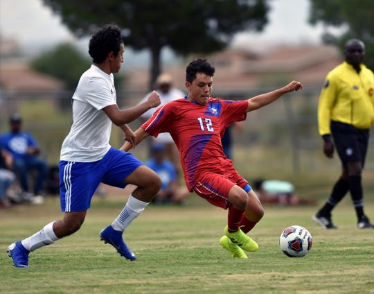 The Las Cruces boys soccer team opened the season on Tuesday against Carlsbad at the Field of Dreams Soccer Complex. The score was not reported.